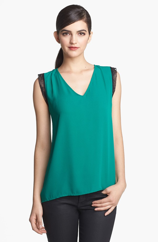 High quality short sleeve latest fashion tops design for lady