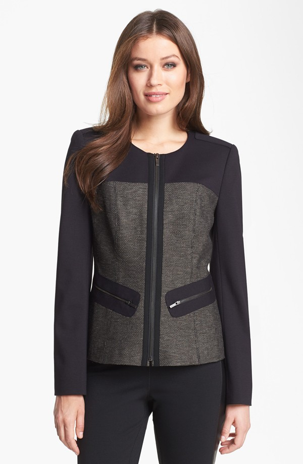 High fashion new design good quality lady jacket 2015