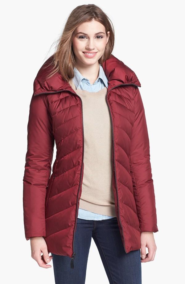 Newly women's slim fit style waviness long sleeve women long coat