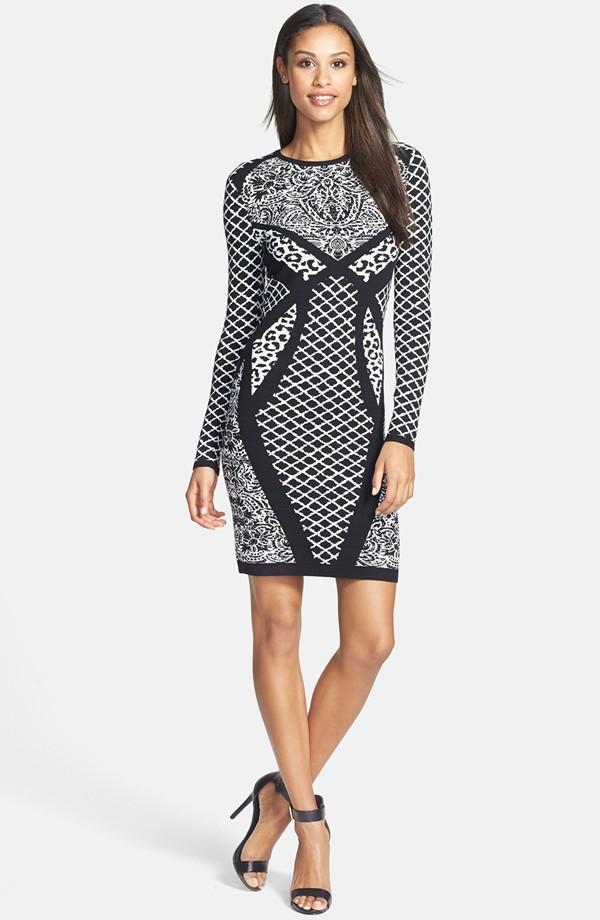 Women's elegant tight fit sexy dress