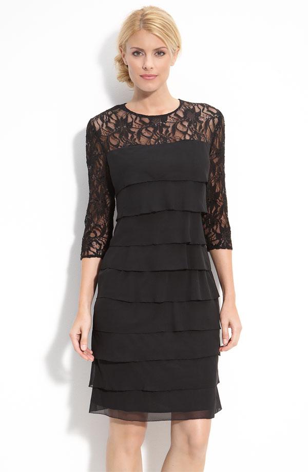 Ladies'fashion chiffon dress